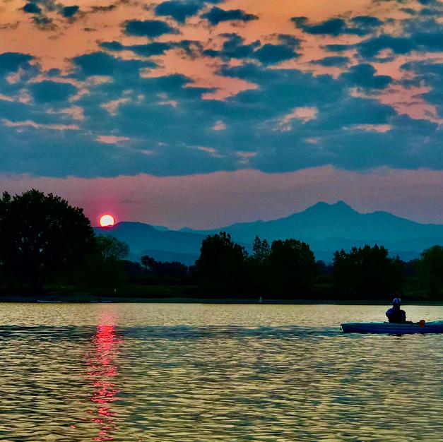 Canoe at McIntosh Lake