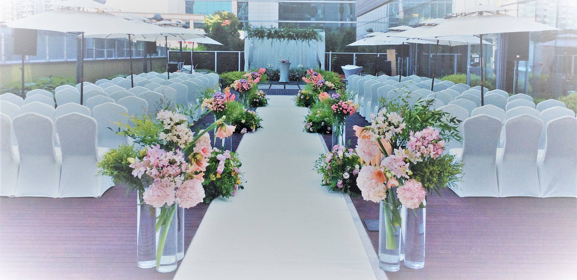 Terrace Wedding Reference