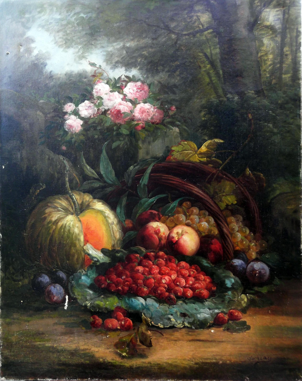 Tableau : nature morte de Sureau