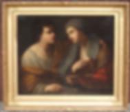 tableau XVIIe Allégorie peinture
