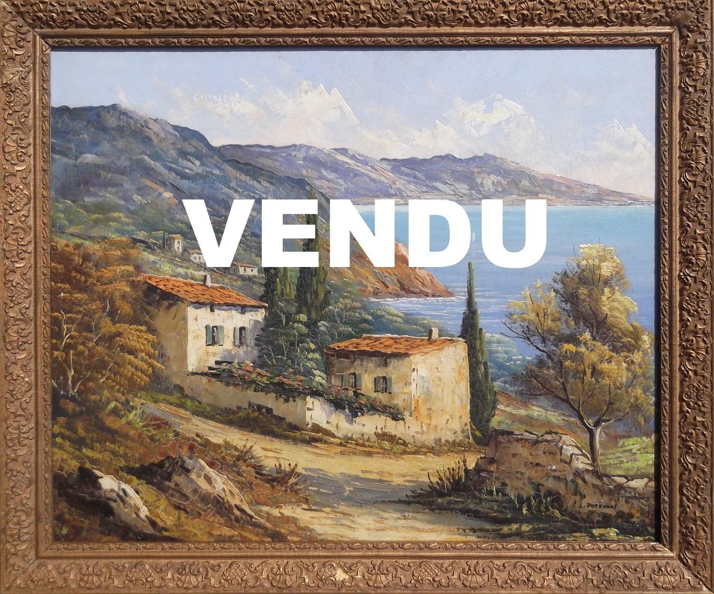 Paysage provençal Lucien Potronat