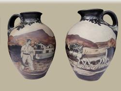 Paire de vases de Ciboure de Vilotte