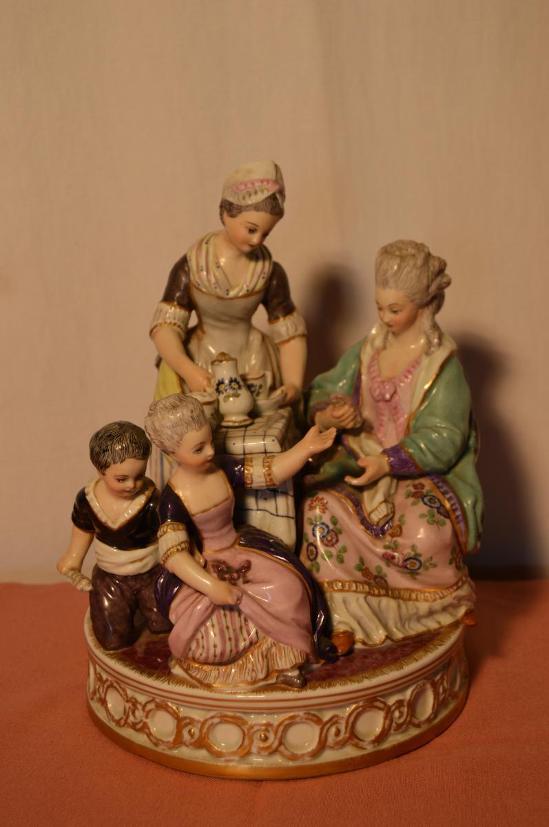 Groupe Porcelaine de Fontainebleau