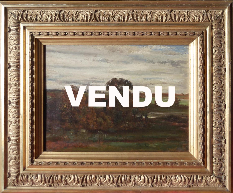 Jean Achard, Paysage, 1841