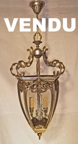 Belle lanterne ancienne en fer