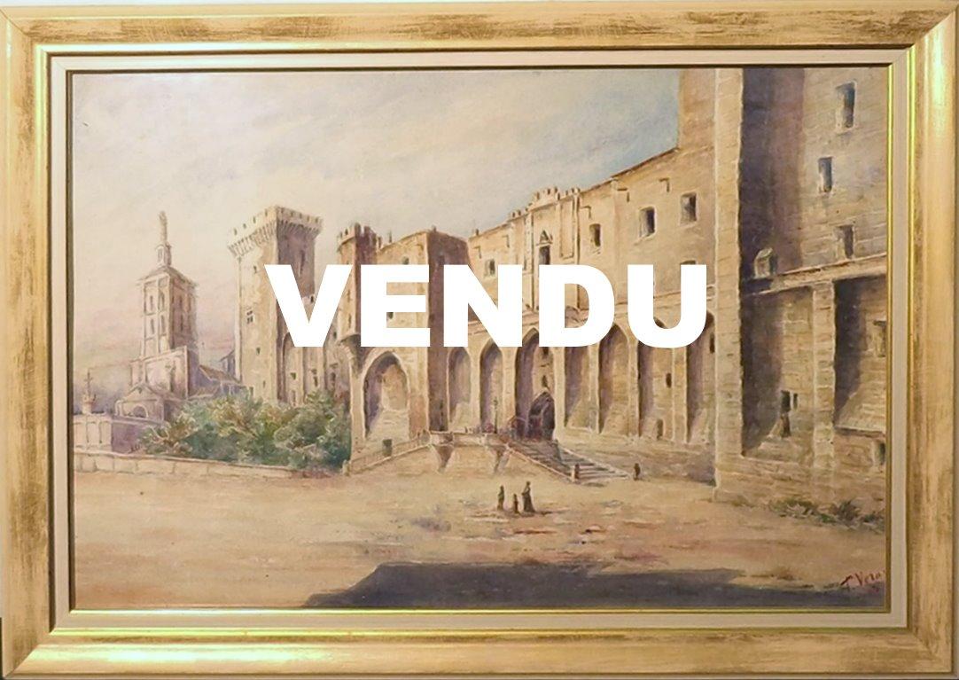 T. Verany, Avignon, Palais des Papes