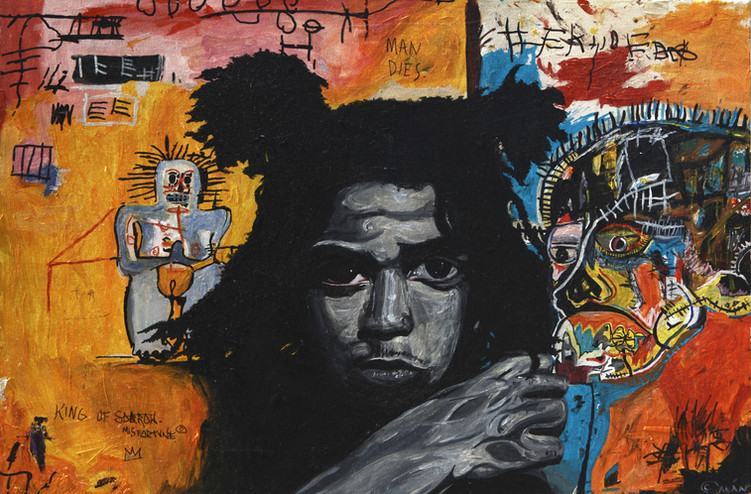 All of My Heroes Did Dope (Basquiat)