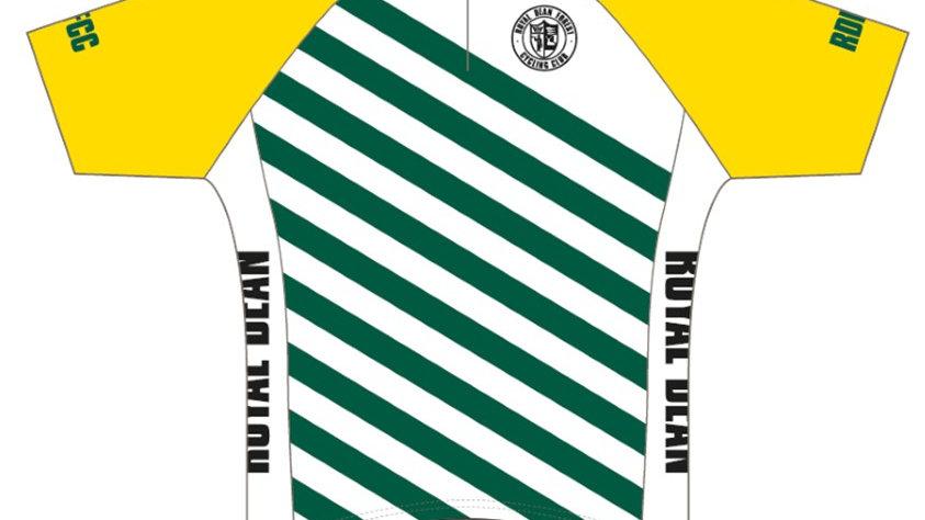 Retro Yellow/Green Jersey
