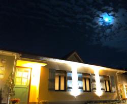 月夜に浮かぶボンテ 恵の秋。