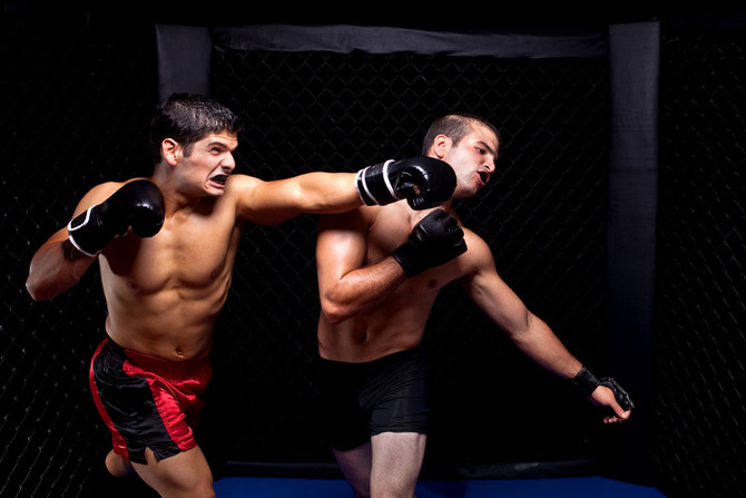 Cardio Kickboxing's Cross Punch - Power, Fun and Fitness
