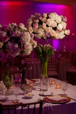 Lavender and Blush Wedding Reception