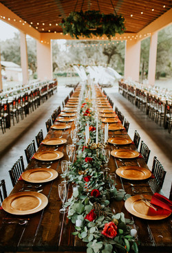 Brooke + Mitchell | Reception Tables