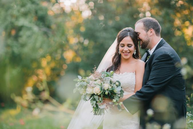 Jimena + Ben // Chic Garden Wedding at Goodwood Museum & Gardens || by At Last Florals || Tallah