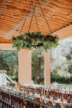 Brooke + Mitchell | Hanging Flowers
