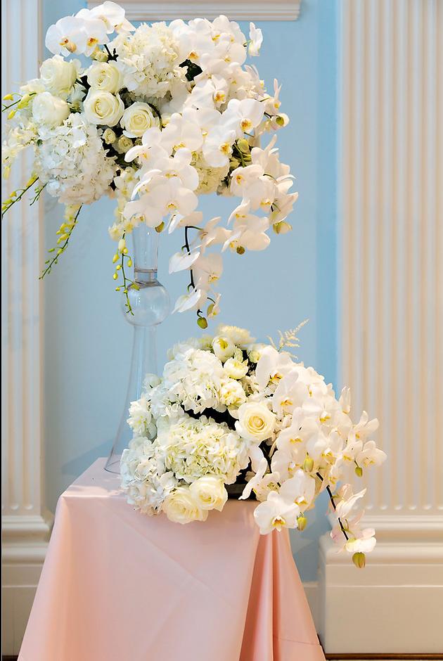Toni Craig Luxury Blush Pink And White Wedding