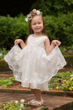 Wedding Flowergirl Halos