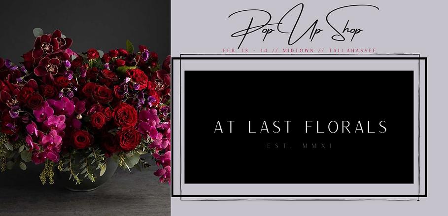 At Last Florals Tallahassee PopUp Shop V