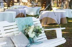 Burlap and Lace Riverside Reception