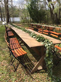 GRACE Farm Tables | Wedding Rentals