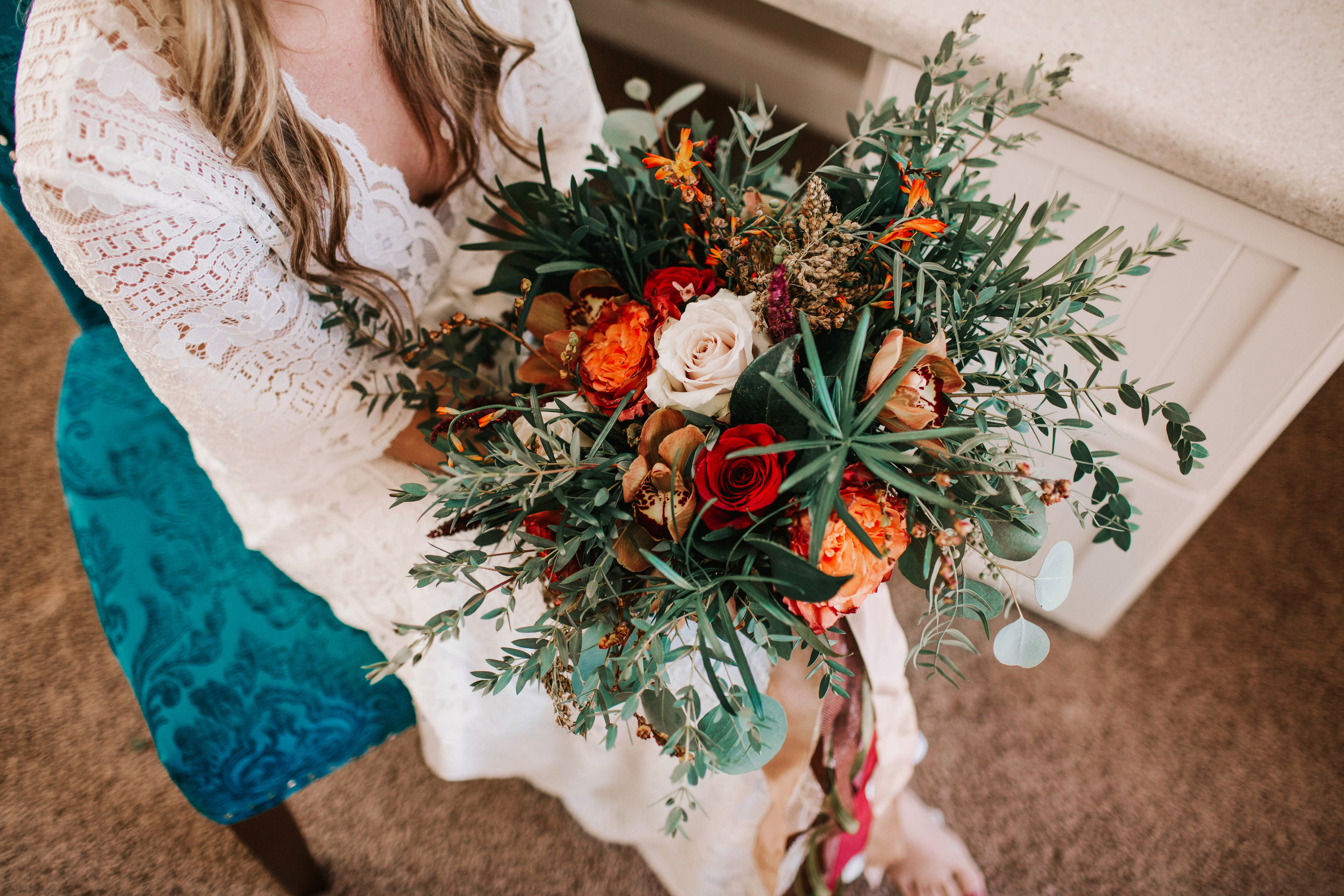 Brooke + Mitchell | Bridal Bouquet