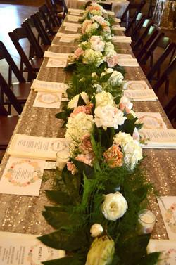 Flower Garland | Tallahassee Wedding