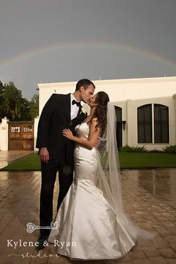 Carla + Nate | Rainbow Wedding