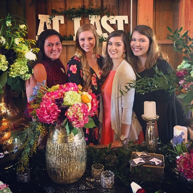Behind the blooms | Bridal Show Birthday Bash with TAWP