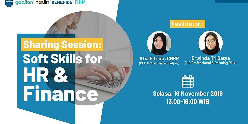 [SURABAYA] Sharing Session : Soft Skill for HR & Finance