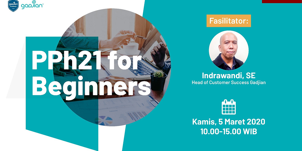 SOLD OUT - [JAKARTA] PPh 21 for Beginners