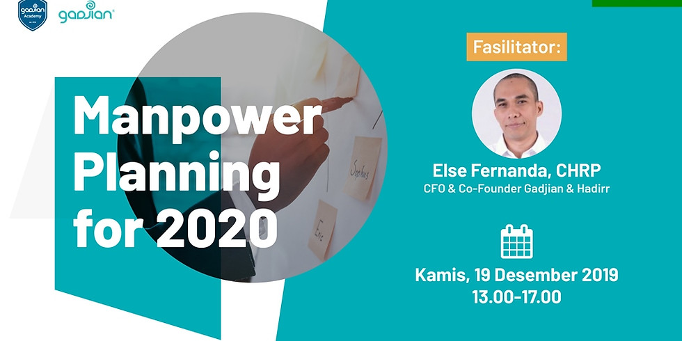 [BANDUNG] Manpower Planning for 2020