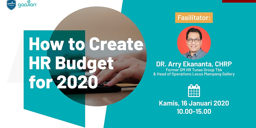 [JAKARTA] How to Create HR Budget for 2020
