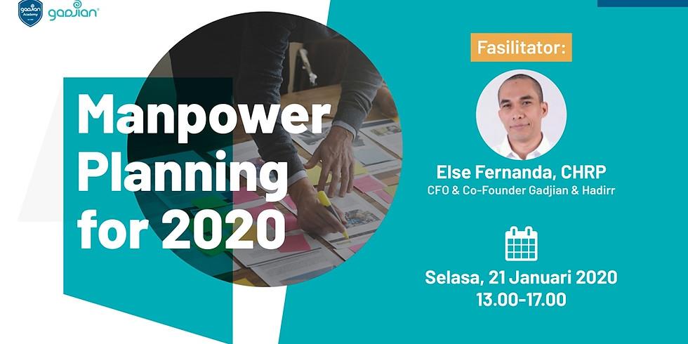[SURABAYA] Manpower Planning for 2020