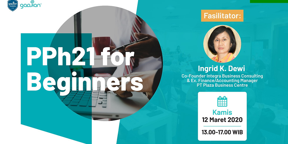 [SOLD OUT]-[BANDUNG] PPh 21 for Beginners