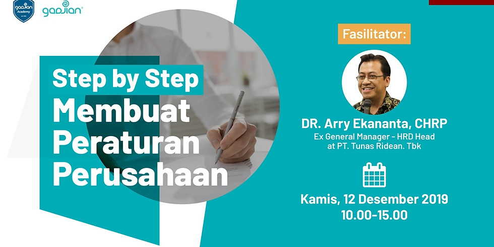 [JAKARTA] Step-by-Step Membuat Peraturan Perusahaan