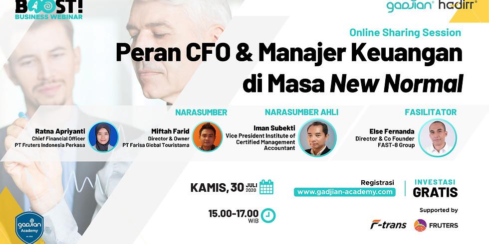 Peran CFO & Manajer Keuangan di Masa New Normal