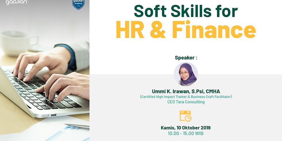 [JAKARTA] Soft Skill for HR & Finance