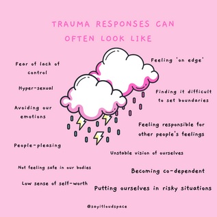 Trauma responses are different for everyone.