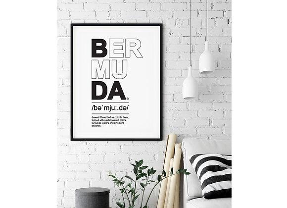 BDA definition print