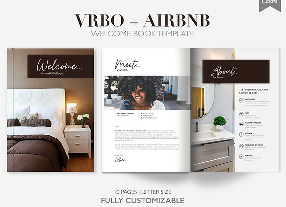 10 Page Vacation Rental Welcome Template