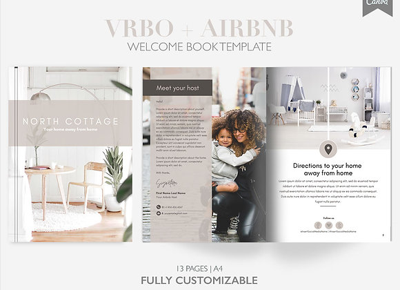Airbnb + VRBO Welcome Book Template