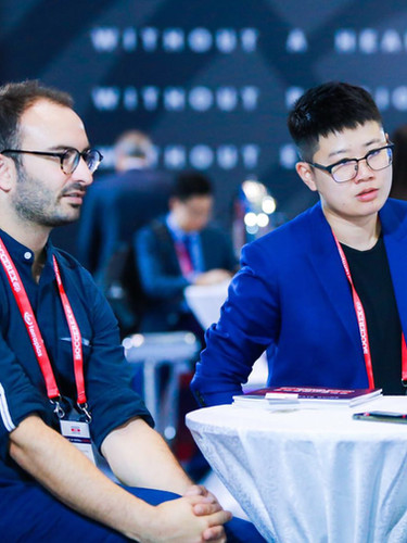 Mailman and Seven League networking at Soccerex China