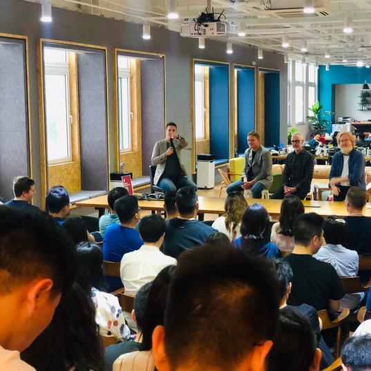 7L Management Team at Mailman HQ in Shanghai