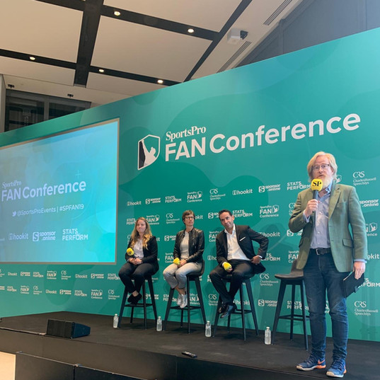 Seven League CEO Richard Ayers at the SportsPro FAN Conference