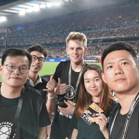 Juventus Tour in Singapore, pitchside