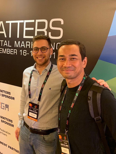 Mailman team at All That Matters conference