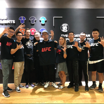 5 Year anniversary with the UFC in China