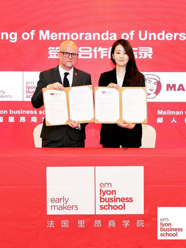 Mailman and EMLyon business school MoU
