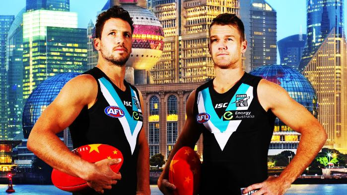 How Port Adelaide Brought Footy to China