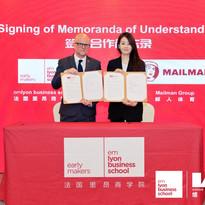 Mailman and EMlyon Memorandum of Understanding