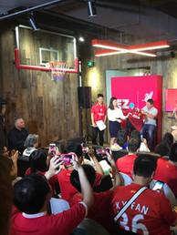 Liverpool FC event at Mailman HQ